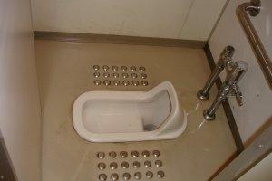 traditionelle japanische Toilette