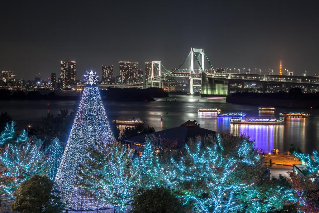 お台場 クリスマスイルミネーション