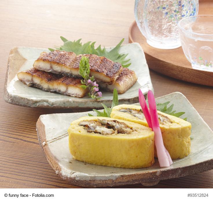 鰻巻き 蒲焼き
